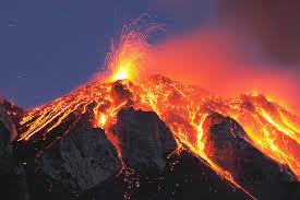 Vesuvius, ejaculating
