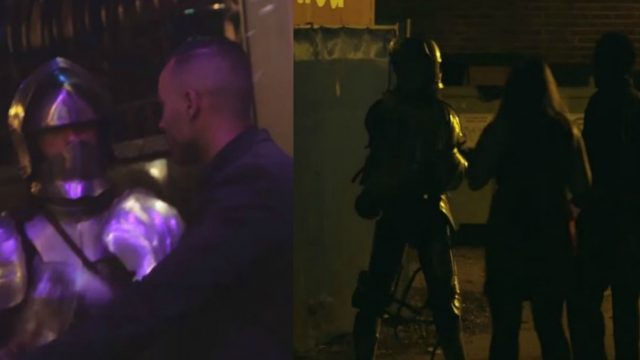 Man Dresses Up as a Knight and Hilariously Trolls Nightclub Bouncers
