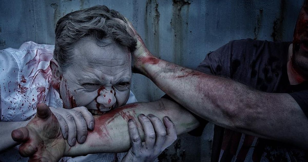 This Real Life 'Zombie Escape' Halloween Event Looks Scary As F*&k