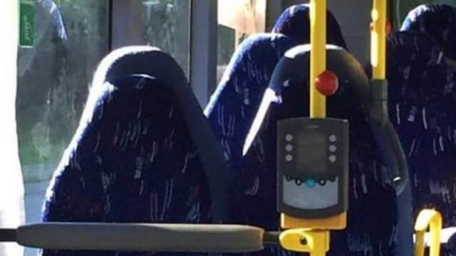 Racist Facebook Page Mistakes Bus Seats For Burqa-Clad Women, Goes Into Meltdown
