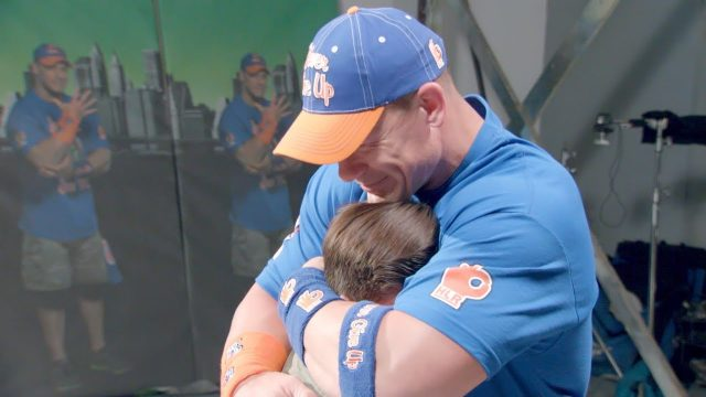 John Cena Brought To Tears By Make-A-Wish Children Who Surprised Him