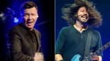 Rick Astley Jumps Onstage With The Foo Fighters – Rickrolls Entire Festival Crowd