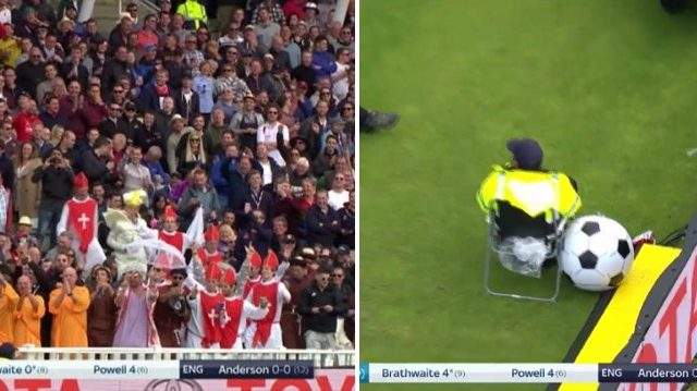 Security Confiscate Beachball At Cricket, Crowd Responds Brilliantly