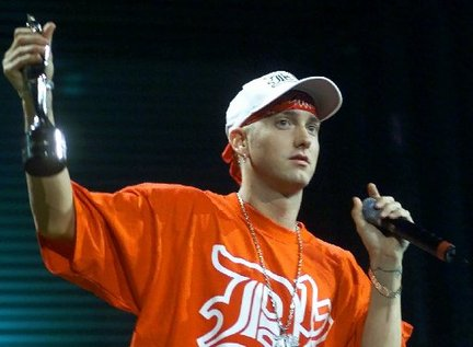 Remember when Eminem was young? Remember when you were young? (Credit: BBC)