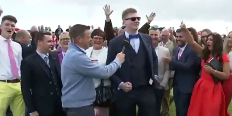 This Irish Bloke Has Gone Viral For His Epic Interview on Live TV