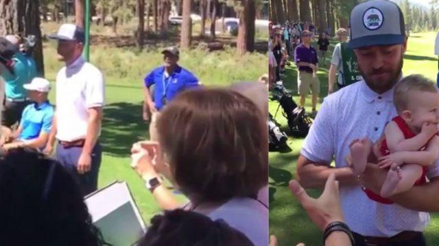 Justin Timberlake Recreates Famous Lion King Scene With Random Fan's Baby