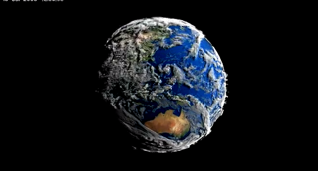 The Earth Looks Like A Living Creature In This Amazing NASA Video