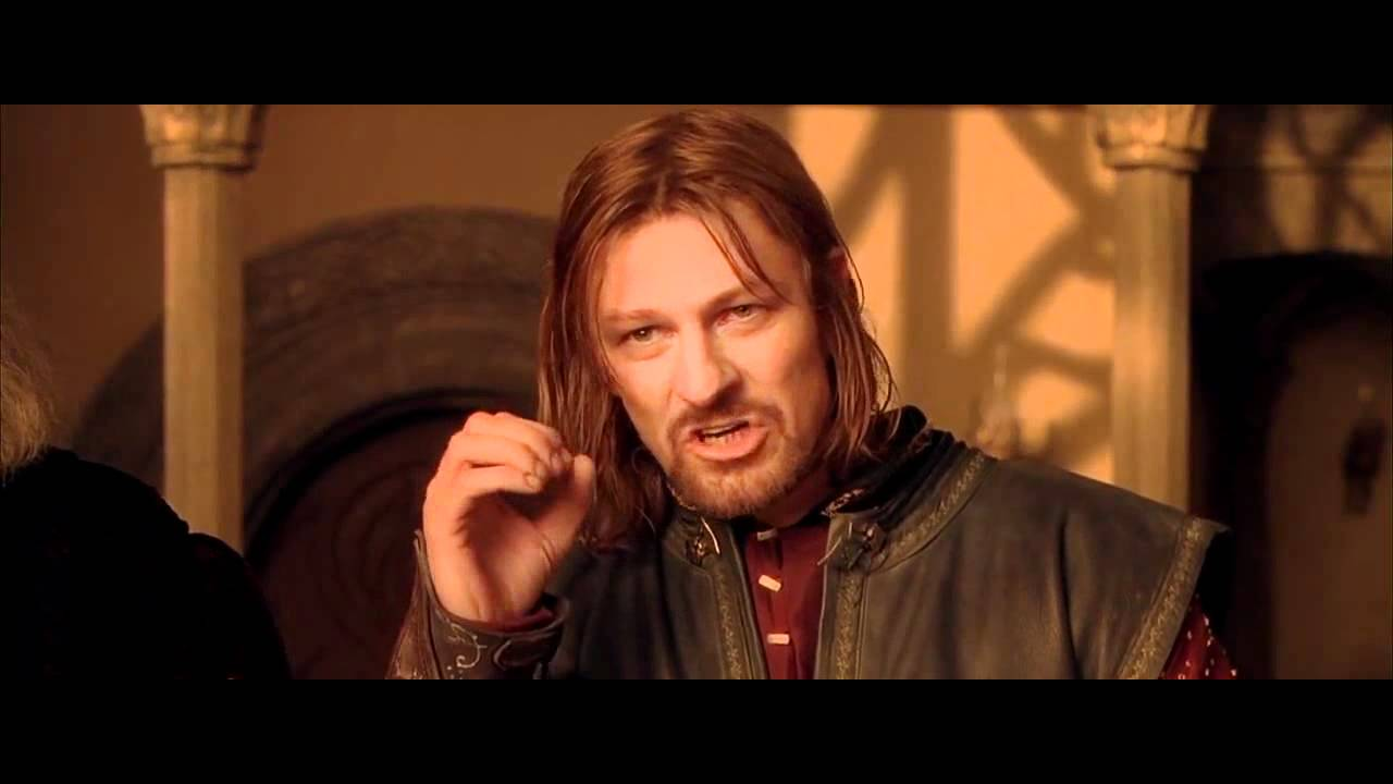 """One does not simply walk into Mordor."" (Credit: YouTube)"