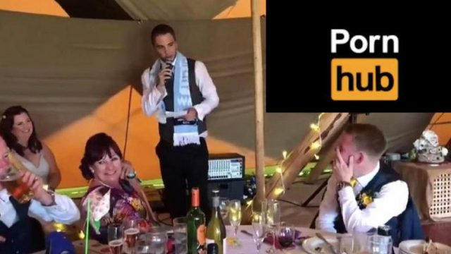 Epic Best Man Speech That Drags Out Groom's Porn History Goes Viral