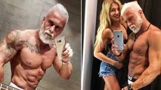 Gym Junkie Spends A Fortune To Make Himself Look Older