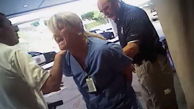 """This Is Crazy"": Utah Nurse Arrested For Keeping Man Safe"