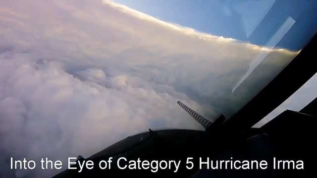 Airplane Flies Into Hurricane Irma In The Name Of Science