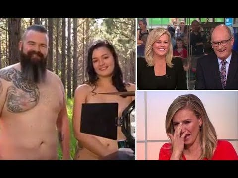 Breakfast TV Hosts Lose Their Sh*t After Nudist Interview Goes Wrong