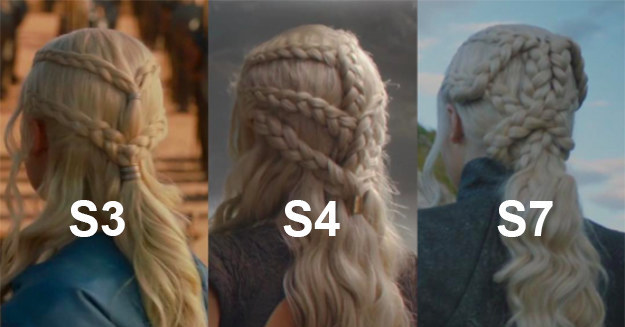 Daenerys' Hair Changes Demonstrates The Show's Incredible Attention To Detail
