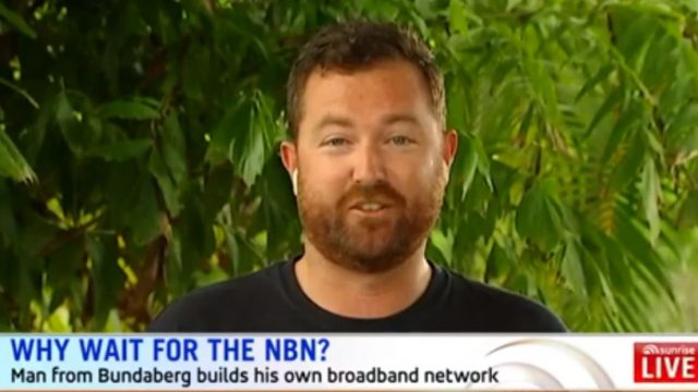 Bloke Gets Sick Of Australian NBN Internet, Builds His Own Broadband Network Instead