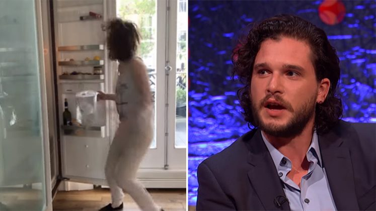 Kit Harington Uses Gory Game of Thrones Prop To Prank Fiance
