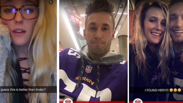 Entire College Campus Uses Snapchat To Help Bring These Strangers Together