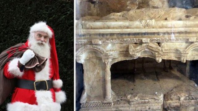 Archaeologists Have Apparently Found Santa's Tomb, The Location is Ironic
