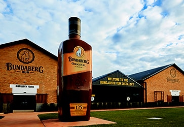 Their rum bottles are this big in Bundy. Looks probably don't matter that much. Credit: Bundabergrum.com