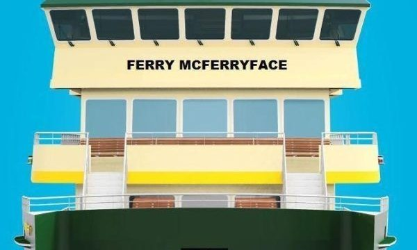 Australian Ferry To Be Officially Named Ferry McFerryface After Public Vote