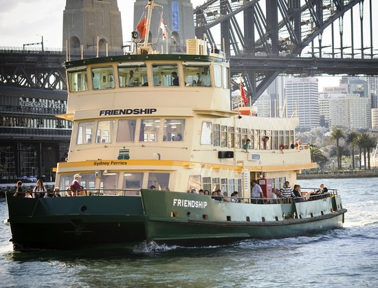 Surely calling one 'Friednship' is every bit as bad. Credit: Sydney Ferries