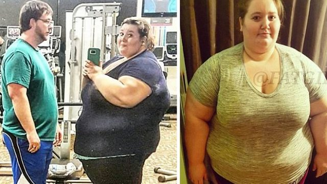 Couple Celebrates Losing Over 190kg With Romantic Gym Snapshot