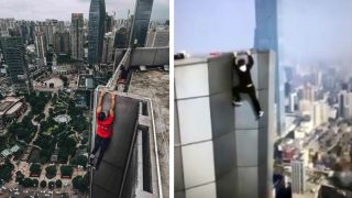 Chinese 'Rooftopper' Wu Yongning Films His Own Death During Stunt