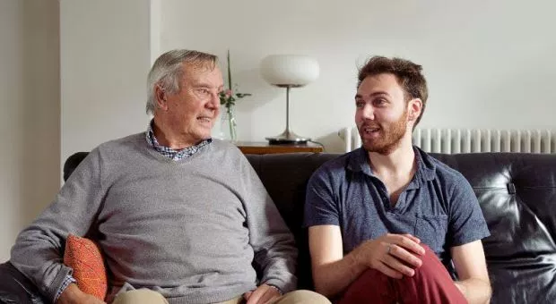 Joe meets Barry. A bloke who spends his whole life alone. Credit: The Loneliness Project