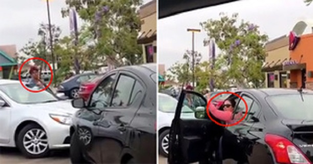 Hilariously Awkward Taco Bell Stand-Off Ends in Police Being Called