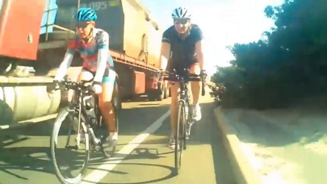 Cyclist Shares Footage Of Near Miss With Truck Online, Gets Inundated With Abuse