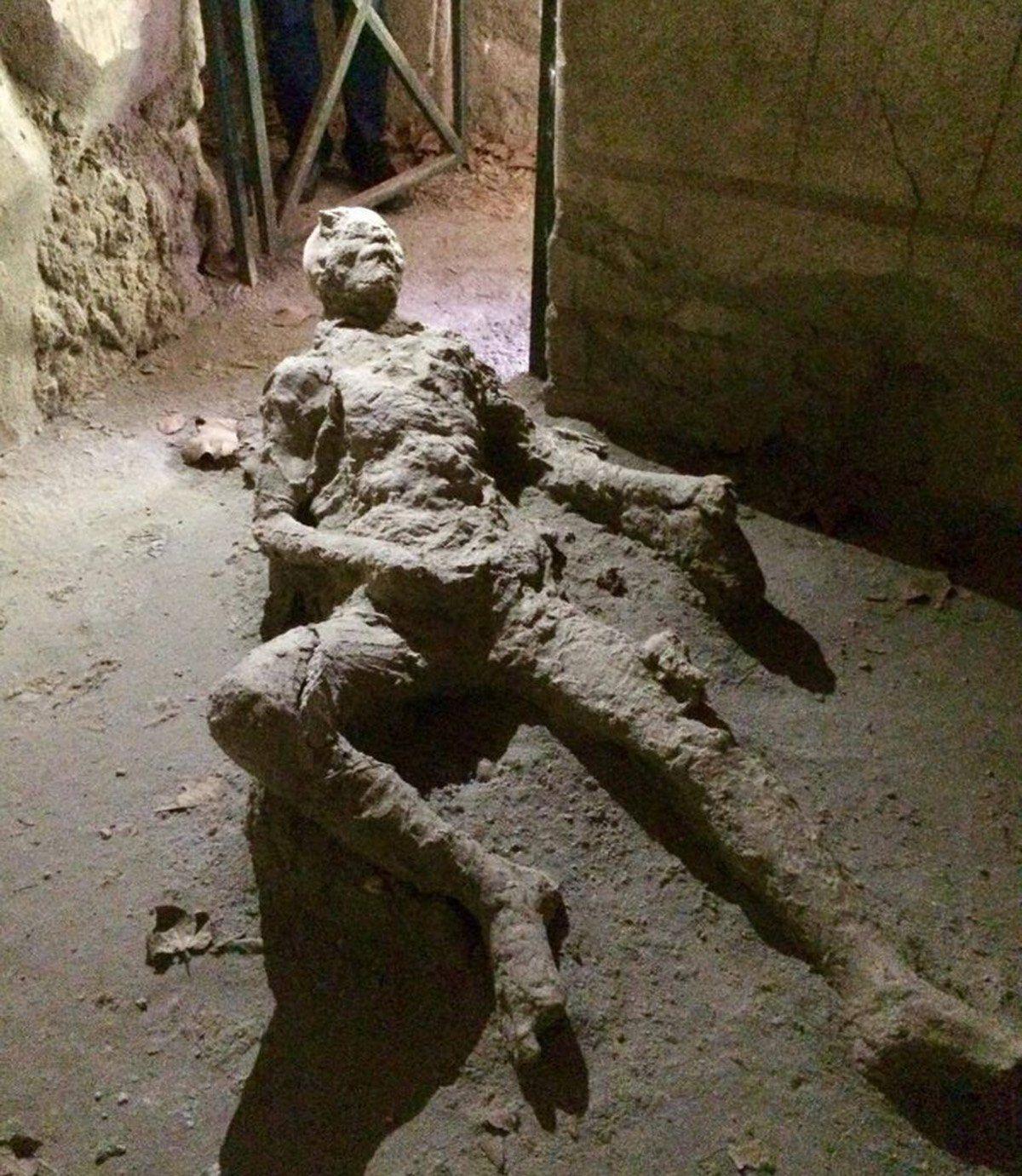Much like the Masturbating Man of Pompeii, 79AD