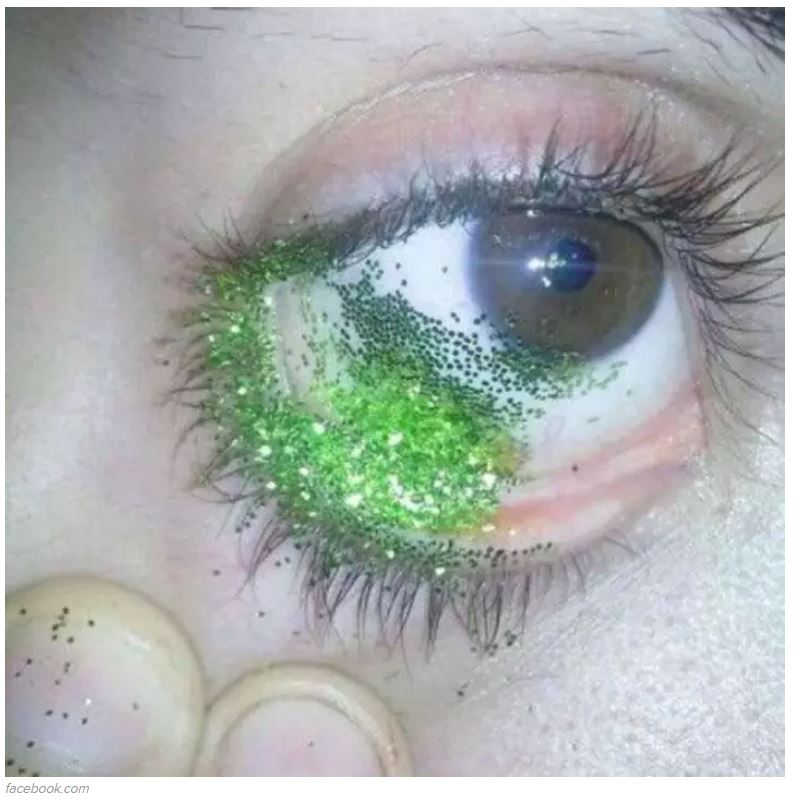 Who knew this is what being a sparkle in your parents eye looks like? Credit: Buzzfeed/Facebook