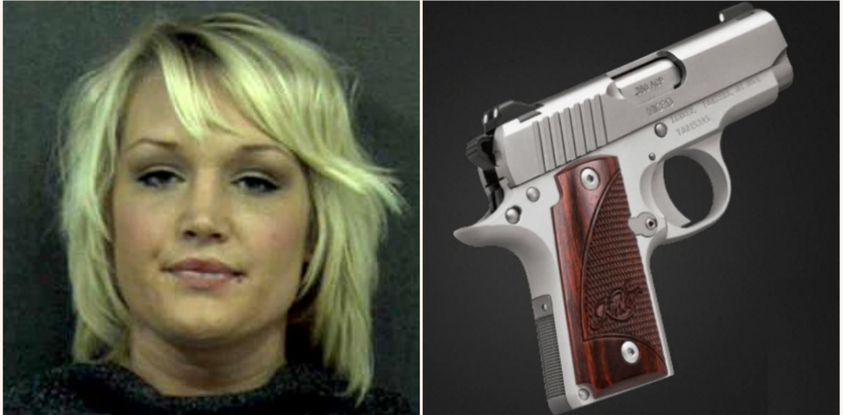 Woman found with a loaded gun in her vagina at traffic stop