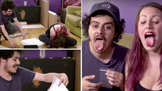 People take LSD and try to assemble IKEA furniture