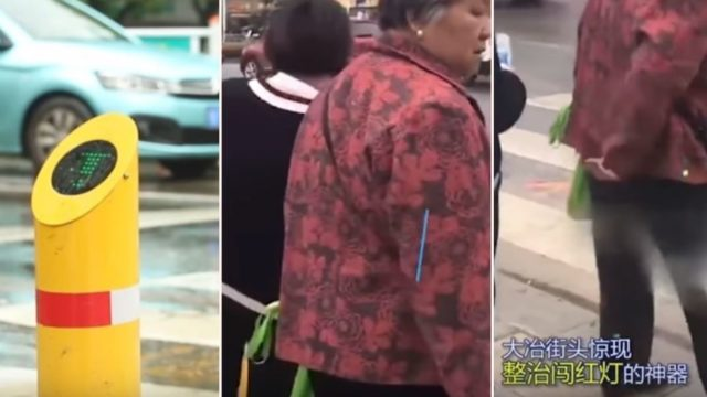 China has started punishing jaywalkers by spraying them with cold water for crossing at red lights