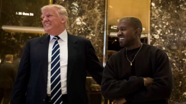 Kanye West & Donald Trump share bromance on Twitter