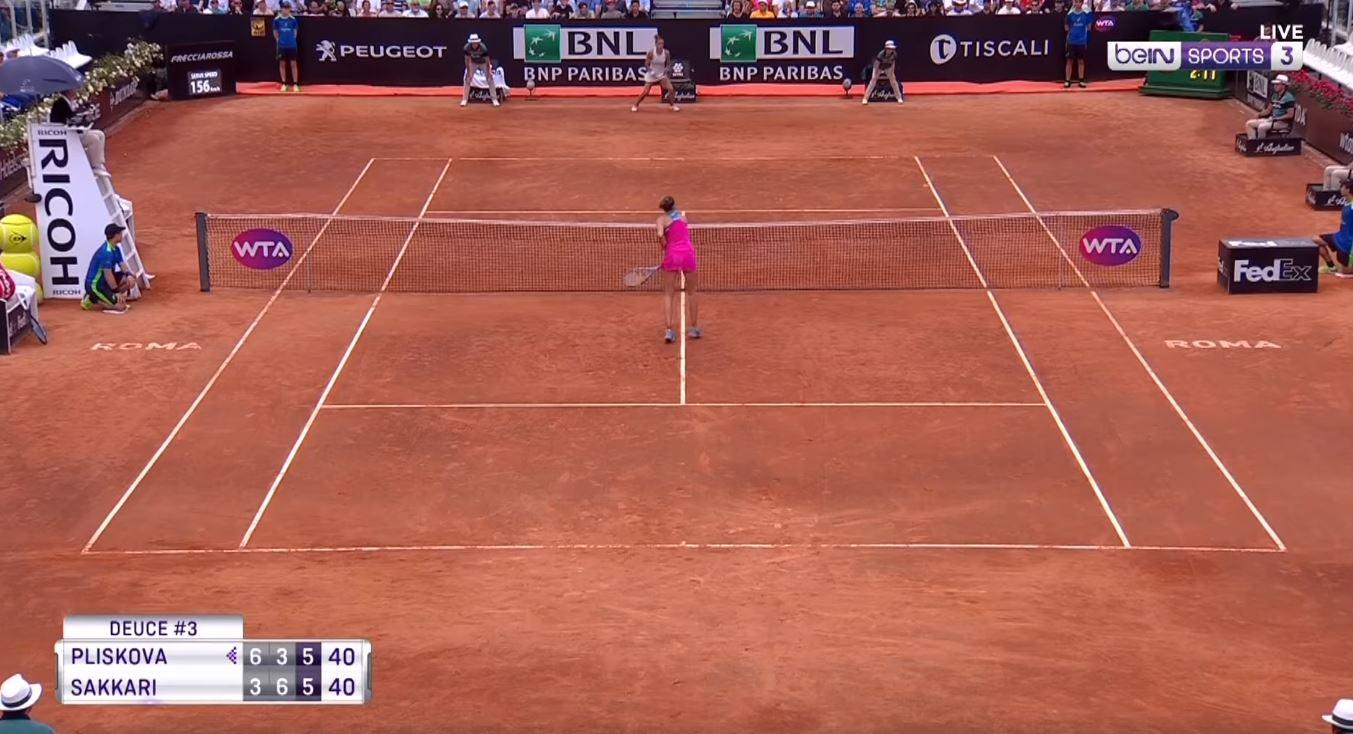 F**ken shot! Credit: Bein Sports