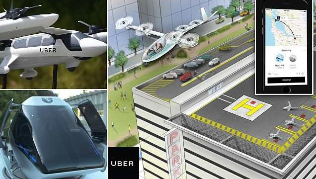 Uber unveils its self-flying Taxi