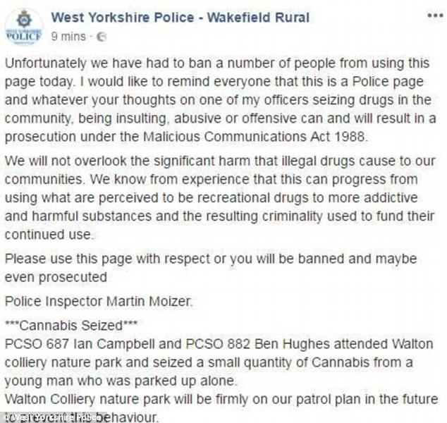 Credit: Facebook/West Yorkshire Police