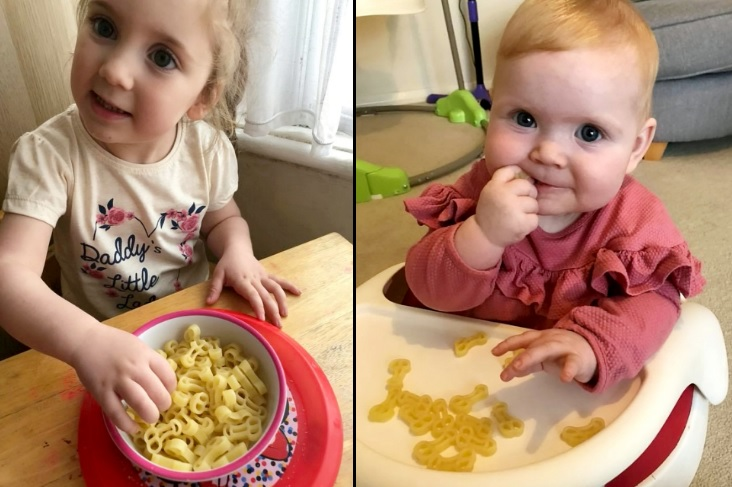 "Horrified Mum accidentally feeds her two children a bowl of ""d*cks"""