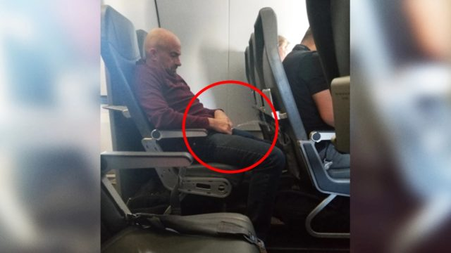 Drunk as f**k passenger caught peeing on back of airline seat