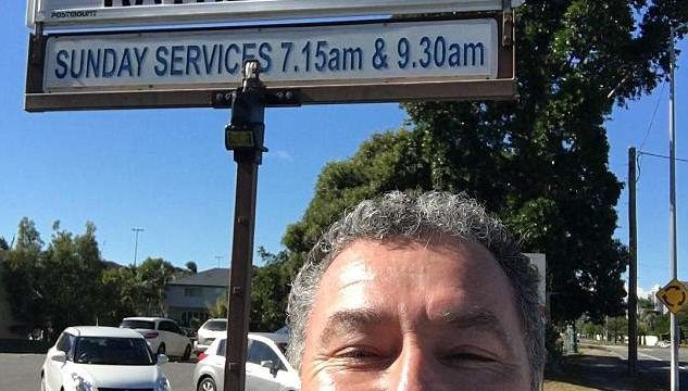 Gold Coast Anglican Church's raunchy road sign has jaws dropping