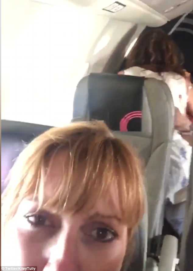 Couple share video of flight passengers joining mile high club
