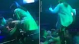 Singer Soccer Kicks A Guy In Head After He Tries To Grope Her Onstage