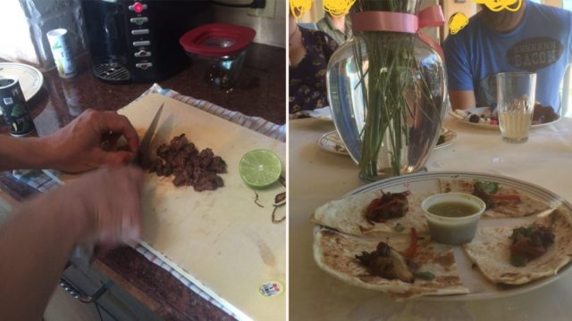 Bloke serves his friends his own amputated foot tacos
