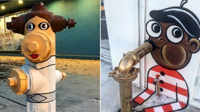 Legend street artist transforms city streets