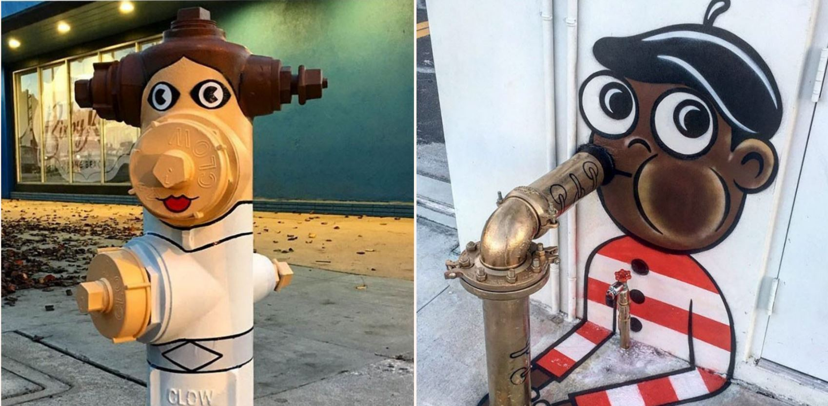 Legend street artist transforms city streets