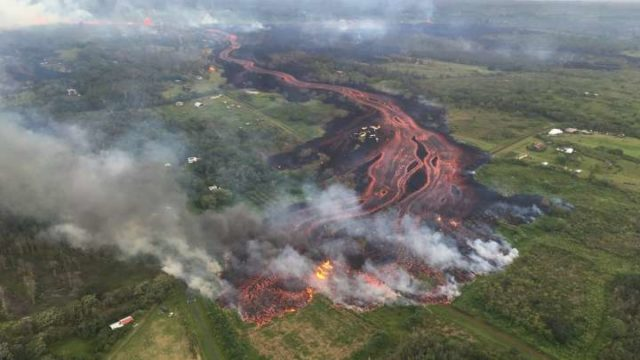 Gangster Scientists Use Drone To Rescue Man Trapped By Hawaiian Lava Flow