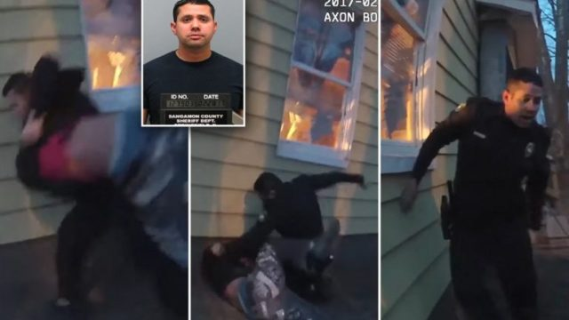 Cop promises no arrest wants to 'throw hands' instead – actually follows through