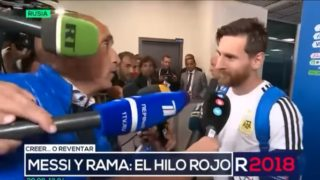 Messi's response to fan asking if he remembers a gift he gave him years ago is gold